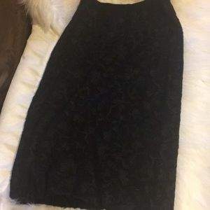 Black skirt vintage